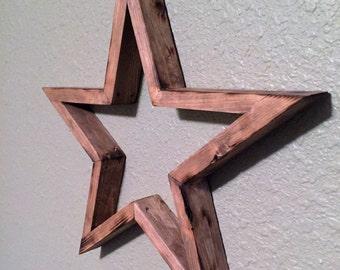 Rustic Wood Star!!! Wall Decor