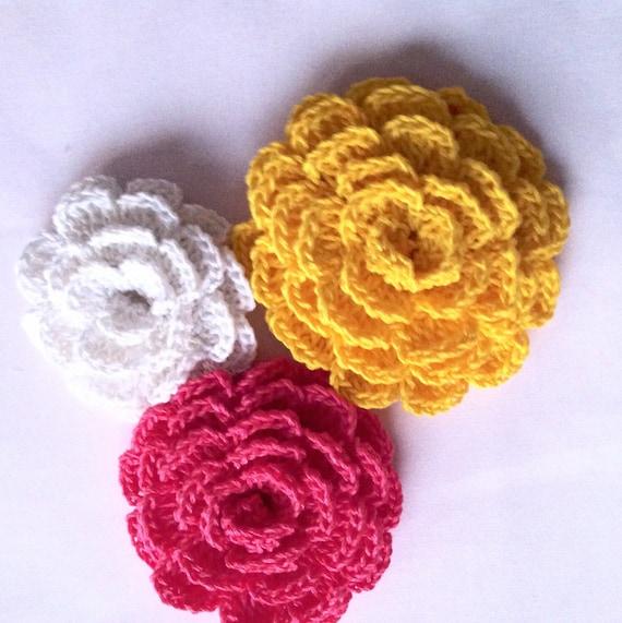 Easy crochet flower pattern, rose crochet Tutorial, step ...