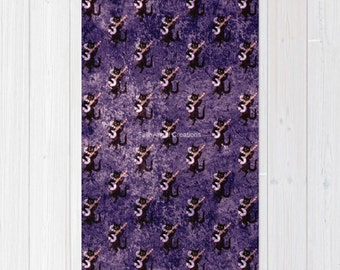 Musical Cats Accent Rug, 3 Sizes Available!