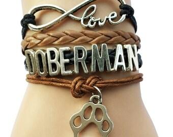 I love my doberman