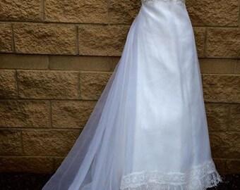 Priscilla of Boston  60's wedding dress