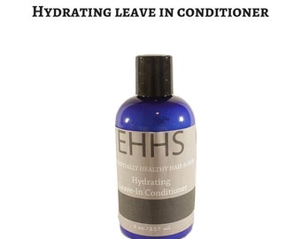 Leave In Conditioner - Hair Moisturizer - Organic Conditioner - Curly Hair Care - Healthy Hair Growth  - Natural Hair - Vegan Hair Products