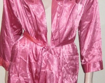 Fredericks of Hollywood Pink Robe