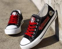 san francisco 49ers shoes fashion sneakers tennis canvas shoes