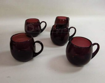 10 Purple Punch Cups