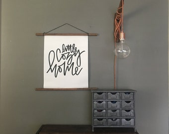 Hanging Canvas Banner // Little Cozy Home