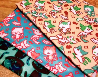 Cat Zipper Bags