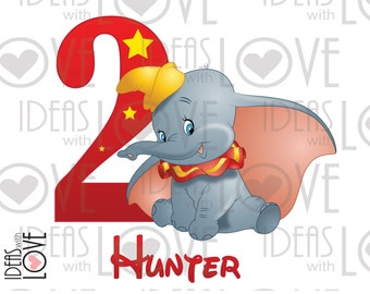 Unique Dumbo Birthday Related Items Etsy