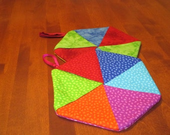 Hexagon potholders