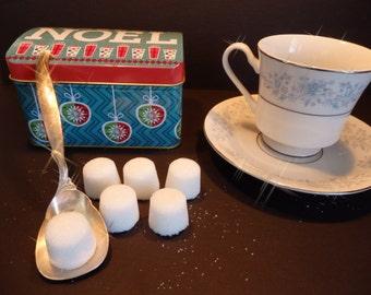 30 organic sugar canen in Noel Box-,OrganicSugar cubes,christmas gift