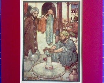 Edmund Dulac: Rubaiyat of Omar Khayyam 1914.