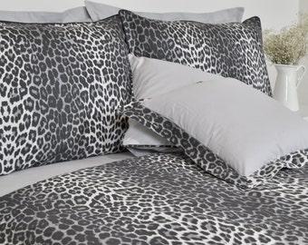 Leopard Print Duvet Etsy