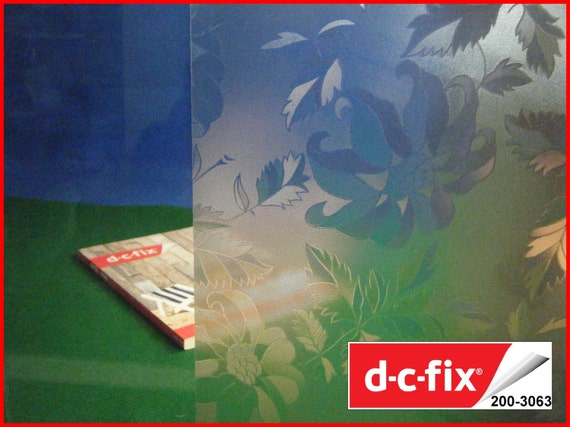 Contact Paper DC FIX Transparent Pattern Privacy Design Sticky