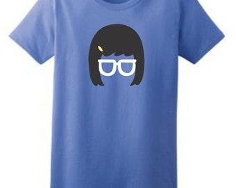 Tina T-Shirt, Custom Tina Shirt, Sizes XS-3XL, Gift for Her. 2000L