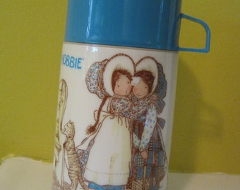 Vintage Thermos aladdin Holly Hobbies / Vintage Thermos jug aladdin Holly Hobbies