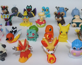 Pokémon Finger Puppets 5 pc Party Favors or Cake Toppers!