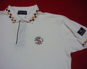 Sale vintage Ringer Polo Shirt Kensho Abe