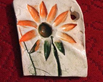 Flower Power Hippie Ornament
