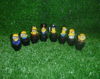 Minion Character Magnetic Geocache Containers