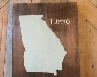 State wall decor home