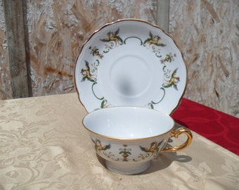 Tea Cup And Saucer, Made In Italy Tea Set