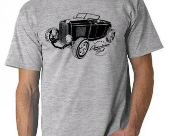 Ford T Shirt Vintage 1932 Ford Deuce Coupe Tshirt