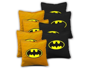 BATMAN Set of 8 Regulation Cornhole Bags Bean Bag Toss