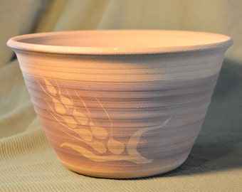 Handmade Stoneware Flower Pot