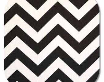 Premier Prints ZigZag Chevron in Black 7 oz Cotton Home Decor Fabric