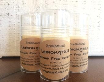 Lemongrass All Natural Deodorant