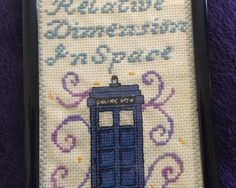 T.A.R.D.I.S Dr. Who Cross-Stitch