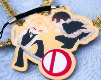 DRRR! Shizuo and Izaya keychain.