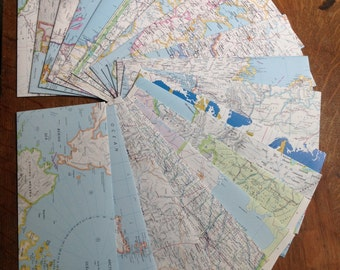 Envelopes - Map - Atlas - Letter size