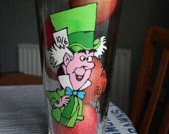 Mad Hatter Vase