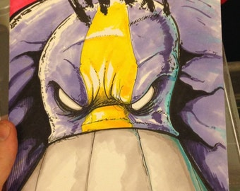 The Maxx Maxximized #13 sketch cover w/ink & copic markers
