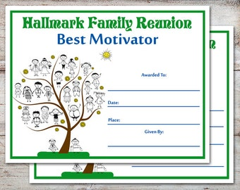 Large personalized family reunion banner family tree banner editable family reunion awards family reunion certificates family reunion family parties family yelopaper Gallery
