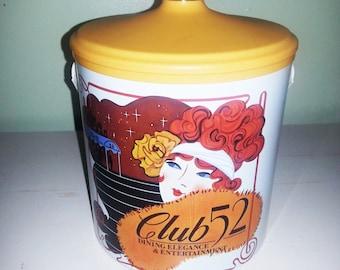Vintage ice bucket, vintage Club 52 Ice Bucket.