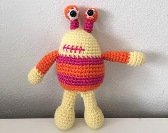 Molly the Handmade Crochet Monster