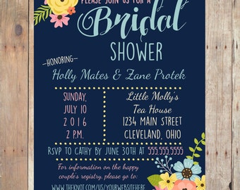 Digital Bridal Shower Invitation