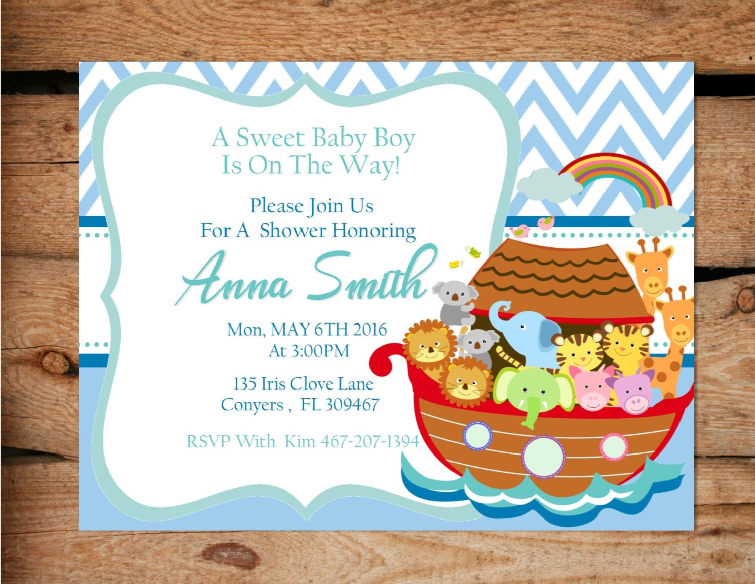 noah 39 s ark shower invitation noah 39 s ark baby shower