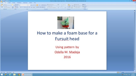 how to make a fursuit head for beginners
