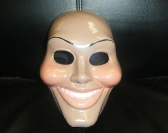 THE PURGE ORIGINAL movie cosplay - hard plastic mask !
