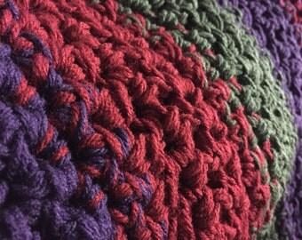 Custom Crochet Afghan Blanket