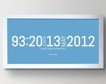 Manchester City Premier League Title 2011-2012