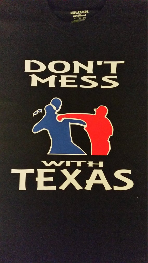 Don 39 t mess with texas baseball t shirt by heatheraylettedesign for Texas baseball t shirt