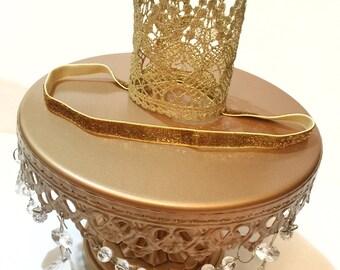 Gold Birthday Crown, babies gold crown headband, birthday headband, gold crown, gold headband, princess crown, birthday crown, infant crown