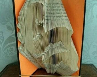 Mermaid Book Folding Pattern