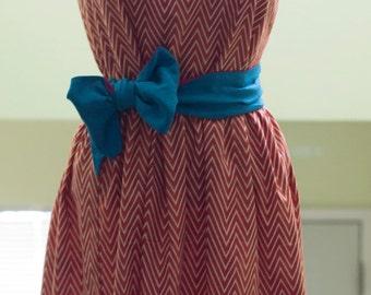 Custom-Made Gathered Dress