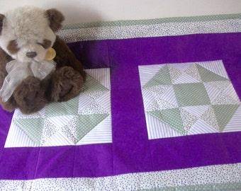 Baby patchwork quilt/ play mat