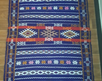 Moroccan carpet kilim L124 l083 H000 D000